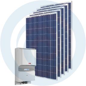 Sistema fotovoltaico auto-consumo-Masterkit 4000