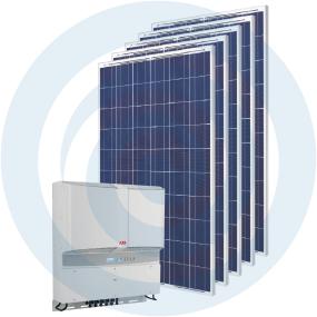Sistema fotovoltaico auto-consumo-Masterkit 11000