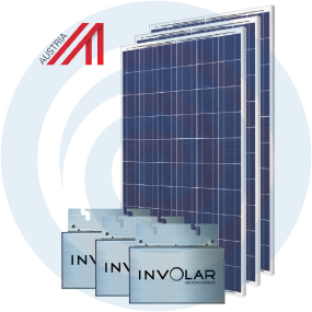 Sistema fotovoltaico auto-consumo - Masterkit 750