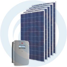 Sistema fotovoltaico auto-consumo-Masterkit 2500